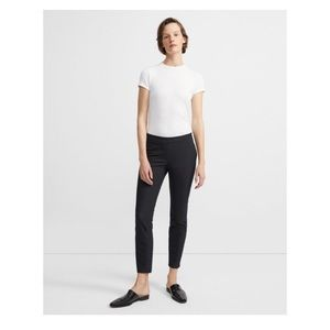 theory - slim fit stretch dress pants